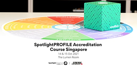 SpotlightPROFILE Accreditation Course Singapore tickets