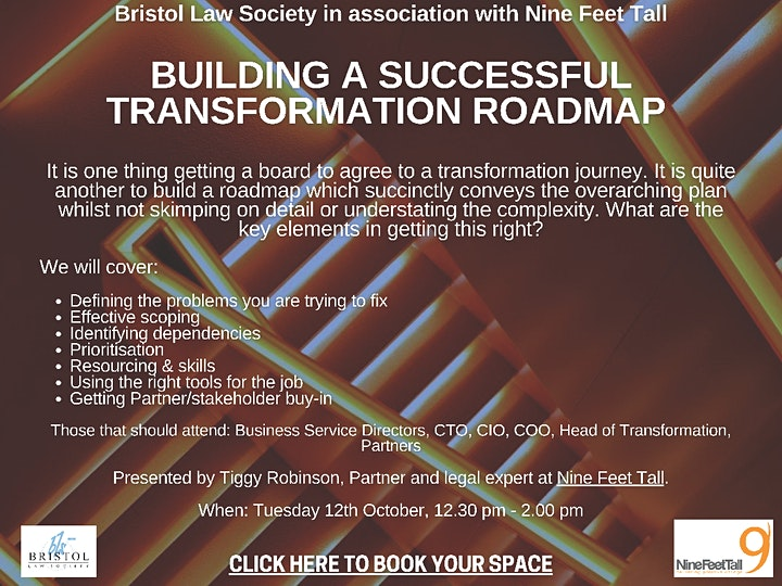 Building  a successful transformation roadmap image
