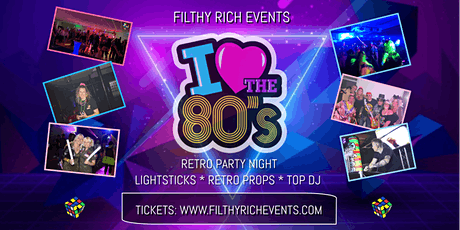 Absolutely 80s Retro Party Night tickets