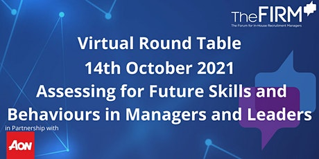 VRT -  Assessing for Future Skills and Behaviours in Managers & Leaders tickets