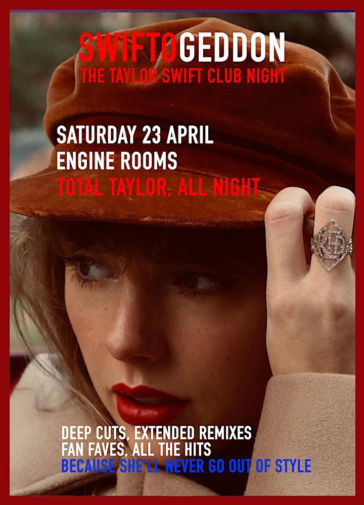 Swiftogeddon - The Taylor Swift Club Night image