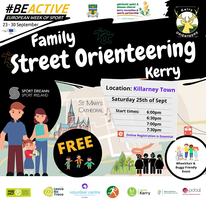 Family Street Orienteering Kerry image