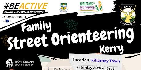 Family Street Orienteering Kerry tickets