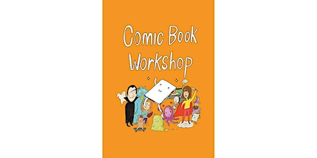 Spring School Holidays:  Comic  book workshop for kids- Zoom Event tickets