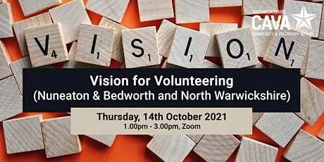 Vision for Volunteering (Nuneaton & Bedworth and North Warwickshire) tickets