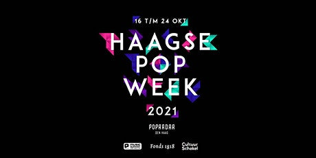 Haagse Popweek 2021: Popradar Draaitafels tickets