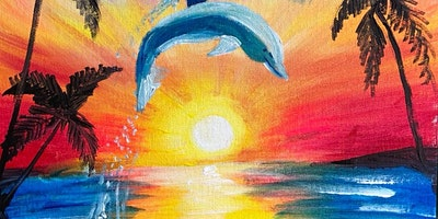 ONLINE Paint Along @ Home — Dolphin