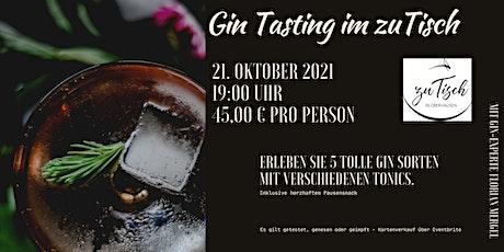 "Gin Tasting bei ""zuTisch"" in Oberhausen Tickets"