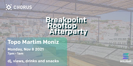 Breakpoint Rooftop Afterparty bilhetes
