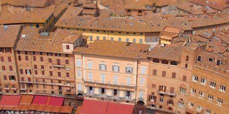 I colori di Siena medioevale biglietti