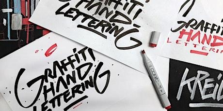 Graffiti Handlettering  für Anfänger mit Künstler CEON | Workshop Tickets