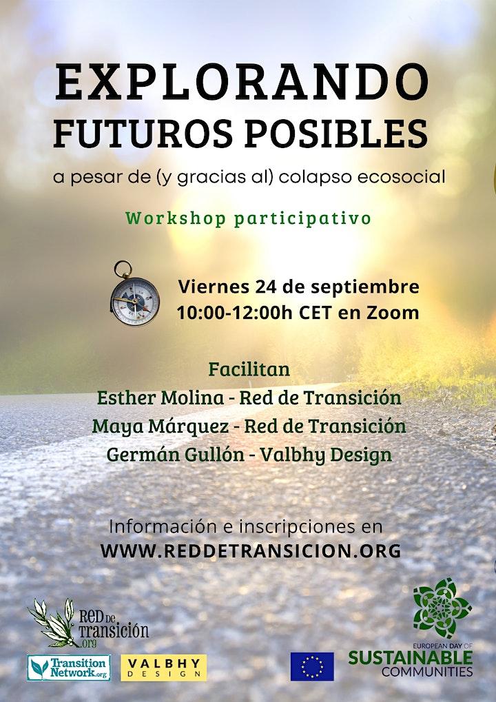 EXPLORANDO FUTUROS POSIBLES a pesar de (y gracias al) colapso ecosocial image