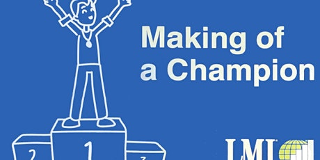 The Making of a Champion Programme tickets