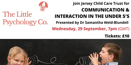 Communication and Interaction in the Under 5s tickets