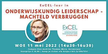 Onderwijskundig leiderschap - Machteld Verbruggen tickets