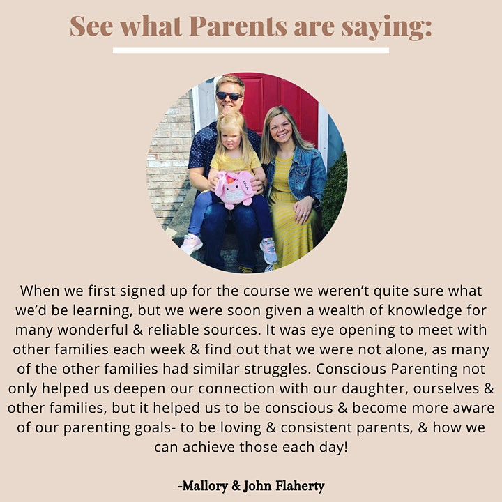 Online Conscious Parenting Course image