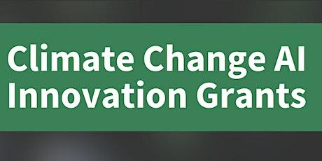 Informational webinar for the CCAI Innovation Grants program tickets