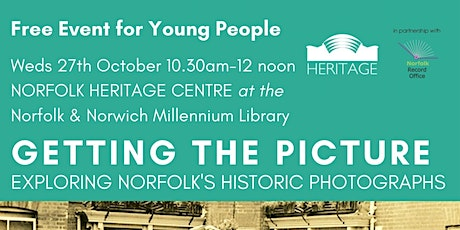 Getting the Picture - FREE Event for Young People tickets