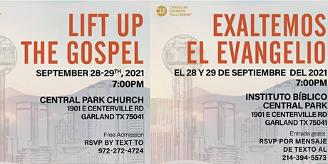 Lift up the Gospel boletos