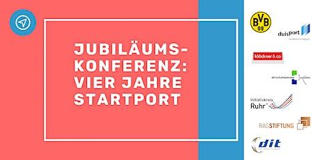 Jubiläums-Konferenz: Vier Jahre startport Tickets