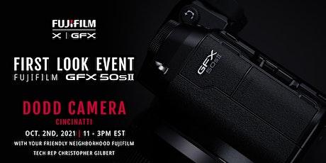 Cincinnati First Look Event - Fujifilm GFX 50S II tickets