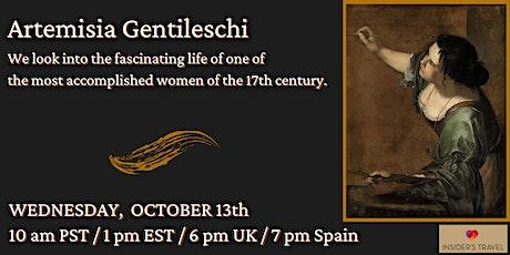 Artemisia Gentileschi.  Fascinating & influential,17th century artist. tickets
