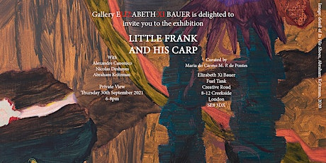 Exhibition Opening Event: Little Frank and His Carp tickets