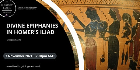 An Exploration of Divine Epiphanies in Homer's Iliad tickets