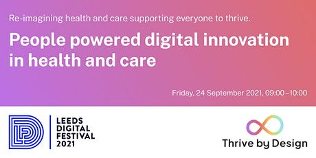 People powered digital innovation in health and care tickets
