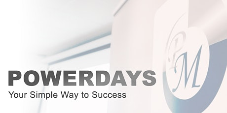 POWERDAYS - Your Simple Way to Success Tickets