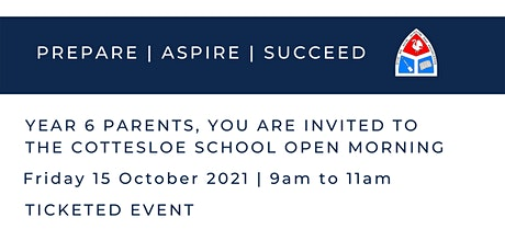 The Cottesloe School Open Morning | 15 October tickets