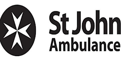 Online First Aid Workshop : St John Ambulance Ireland tickets
