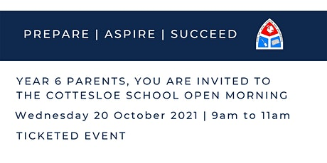 The Cottesloe School Open Morning | 20 October tickets