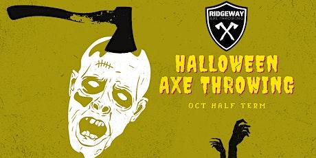 Halloween Axe Throwing! tickets