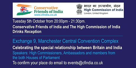 CF India Joint Conference Reception with the Indian High Commission tickets
