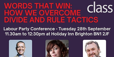 Words That Win: How we overcome divide and rule tactics tickets