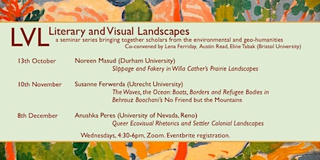 Literary and Visual Landscapes Autumn 2021 tickets