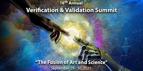 16th Annual Verification and Validation (V&V) Summit tickets