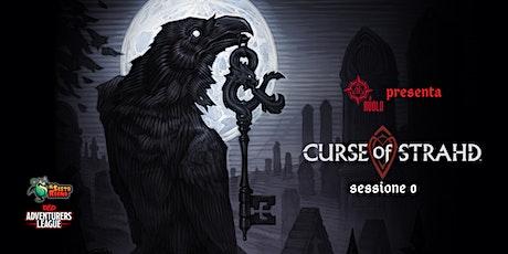 AL Curse of Strahd - sessione 0 tickets