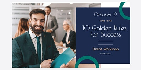 10 Golden Rules for Success tickets