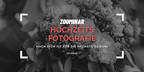 HOCHZEITSFOTOGRAFIE - Mach Dich fit für die nächste Saison! Tickets