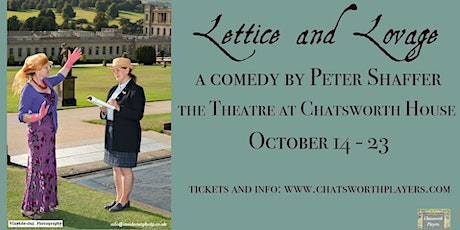 Lettice and Lovage - a comedy by Peter Shaffer tickets