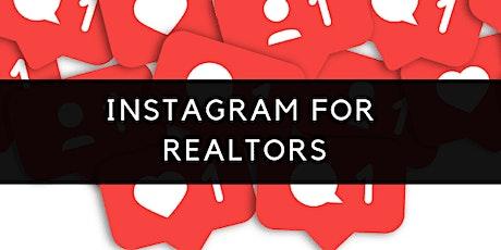 Social Media Boot Camp Series: Instagram for Realtors tickets