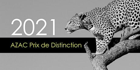 2021 AZAC Prix de Distinction billets