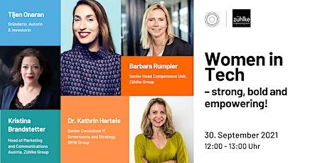 Women in Tech – strong, bold and empowering! Die Zukunft gestalten. tickets
