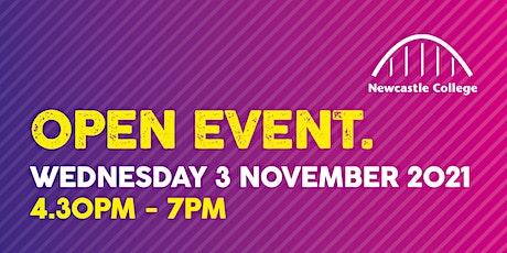 November Open Event tickets