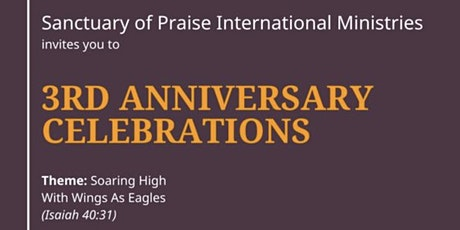 3rd Anniversary Celebrations tickets