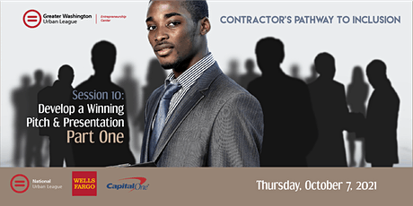 Contractor's Cohort S10a of 11: Develop a Winning Pitch & Presentation(Pt1) tickets