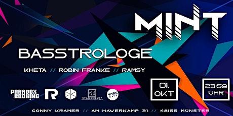 MINT w/ Basstrologe tickets