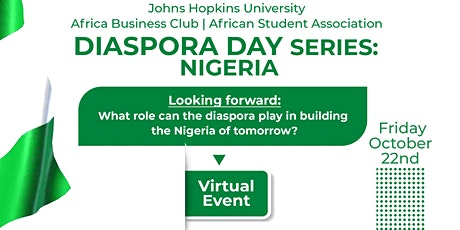 DIASPORA DAY SERIES: Nigeria tickets